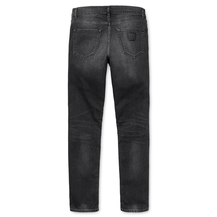 Carhartt Downey Pants Black Fettle Washed
