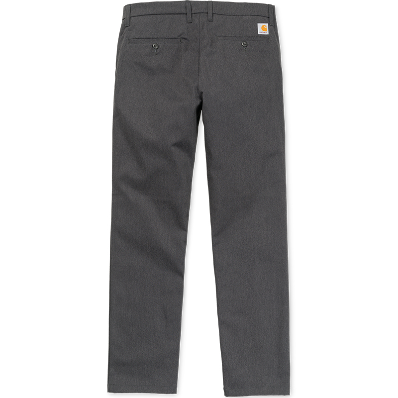 Carhartt Johnson Pants Black Heather Rigid