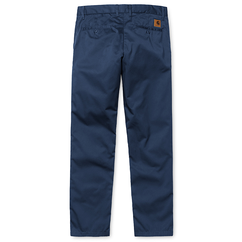 Carhartt Johnson Pants Navy Rinsed