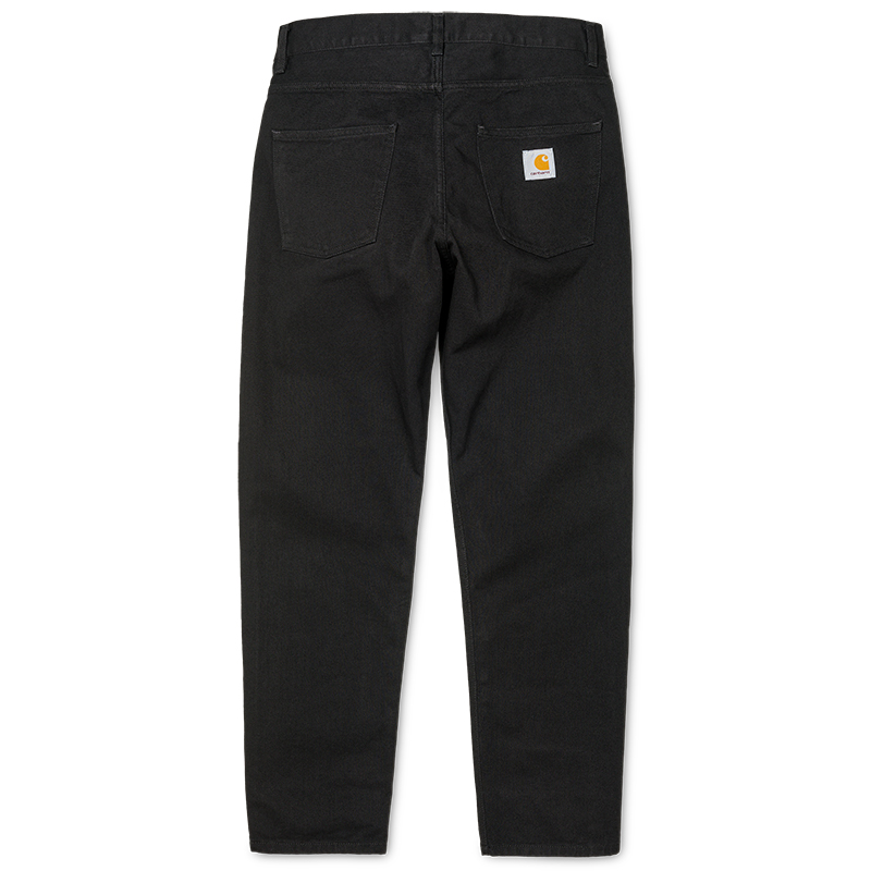 Carhartt Newel Pants Black Rinsed
