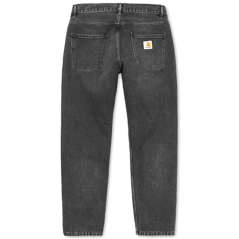 Carhartt Newel Pants Black Rock Washed