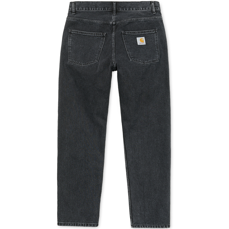 Carhartt Newel Pants Black Stone Washed