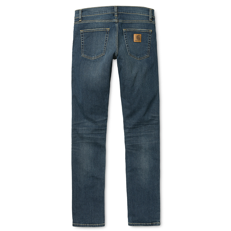 Carhartt Rebel Pants Blue natural dark wash