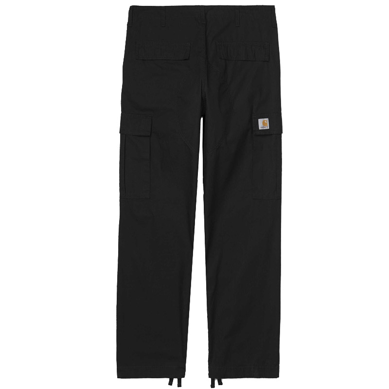 Carhartt Regular Cargo Pants Black Rinsed