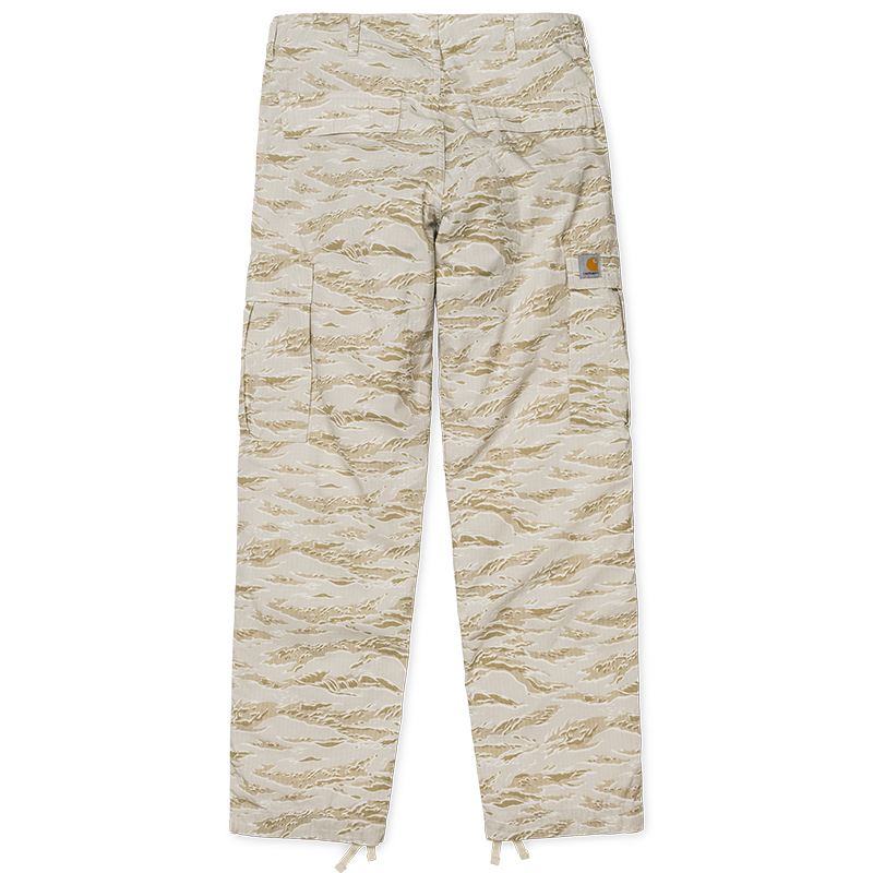 Carhartt Regular Cargo Pants Camo Tiger/Desert Rinsed