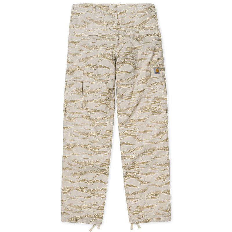 Carhartt Regular Cargo Pants Camo Tiger/Desert Rinsed