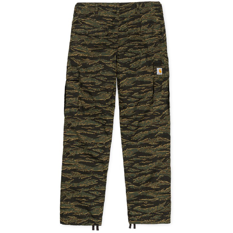 Carhartt Regular Cargo Pants Camo Tiger/Laurel Rinsed