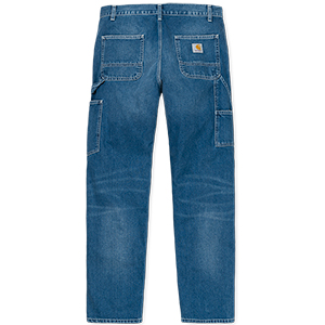 Carhartt Ruck Single Knee Pants Blue Dark True Stone