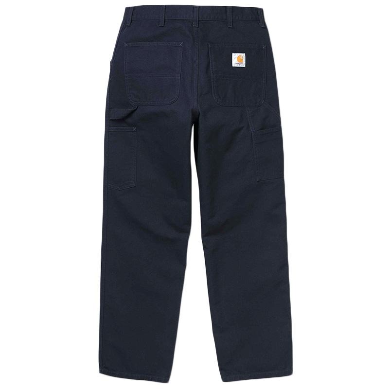 Carhartt Single Knee Pants Dark Navy Rinsed