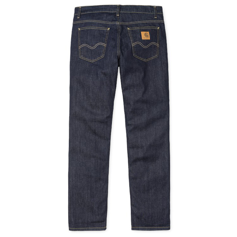Carhartt Texas Pants Blue Natural Dark Wash