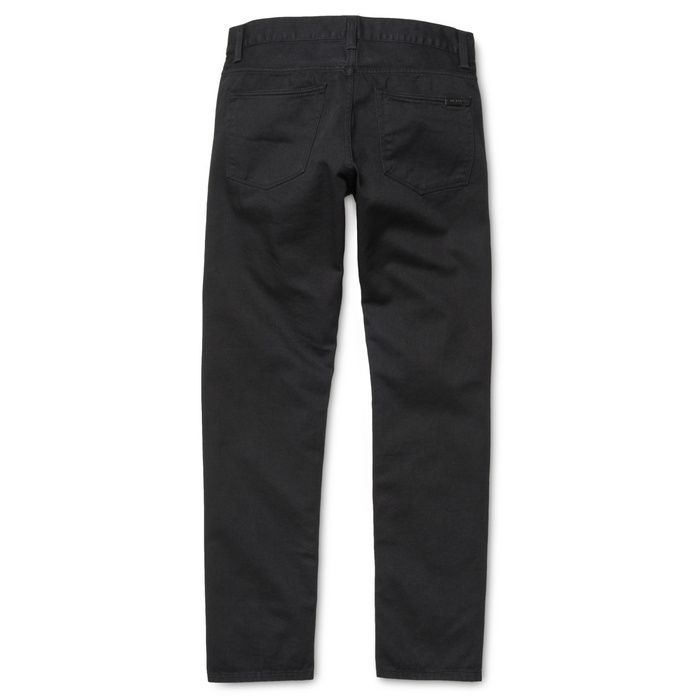 Carhartt WIP Vicious Pants Black Rinsed