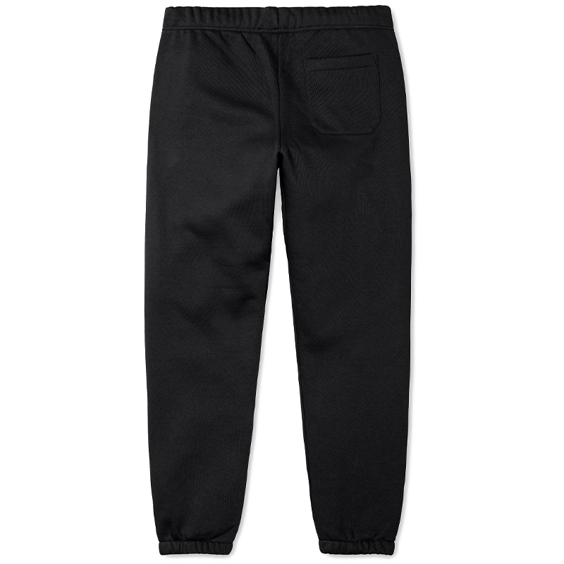 Carhartt WIP Chase Sweat Pants Black/Gold