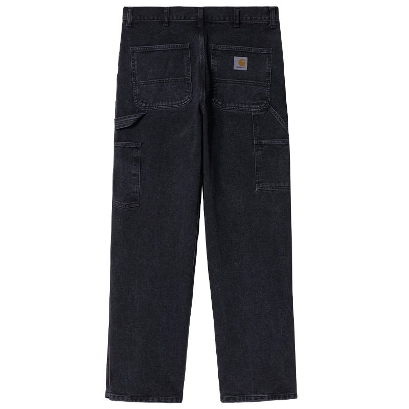Carhartt WIP Double Knee Pants Black Stone Washed