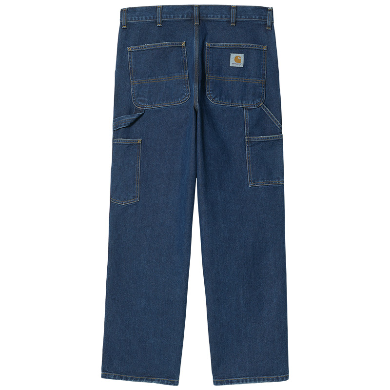 Carhartt WIP Double Knee Pants Blue Stone Washed