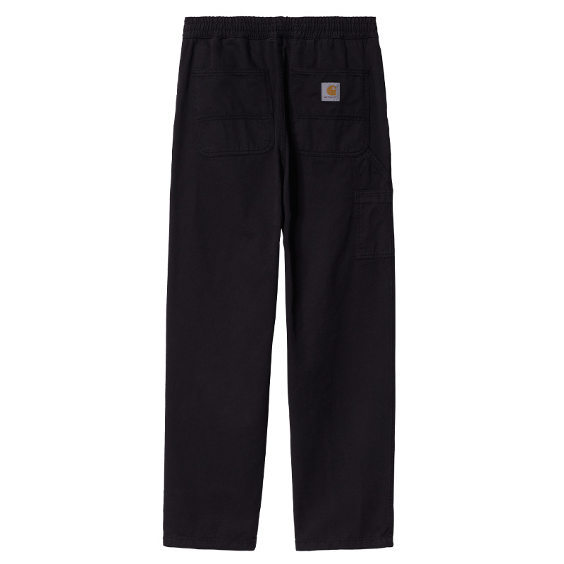 Carhartt WIP Flint Pants Black Garment Dyed