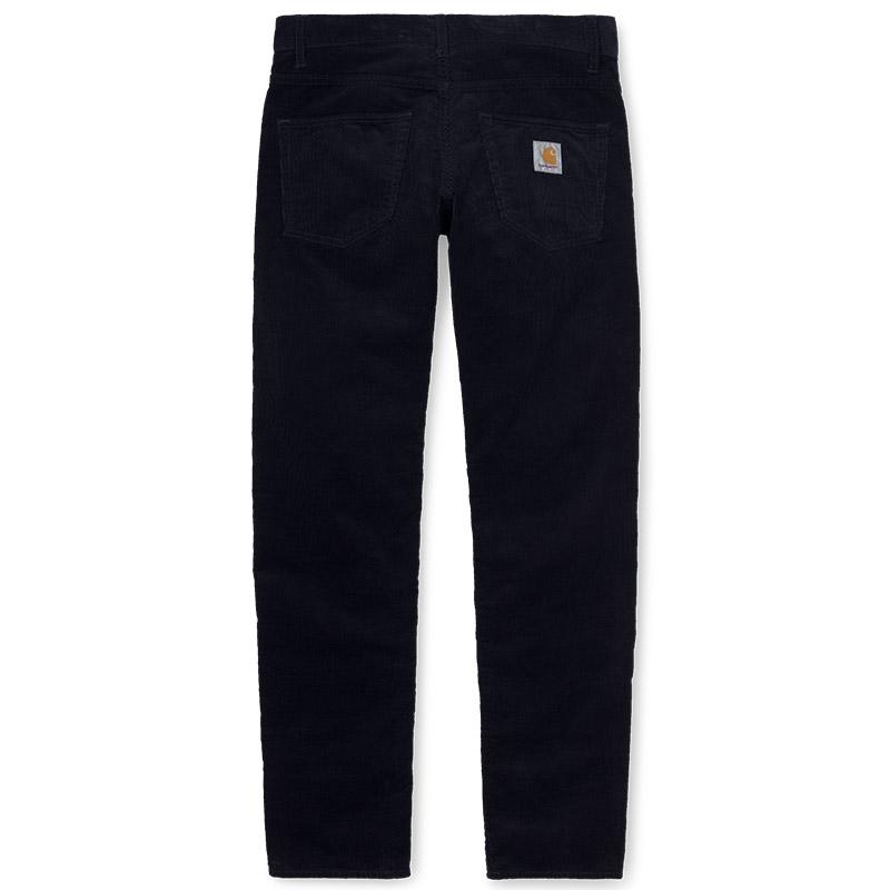 Carhartt WIP Klondike Cord Pants Dark Navy Rinsed