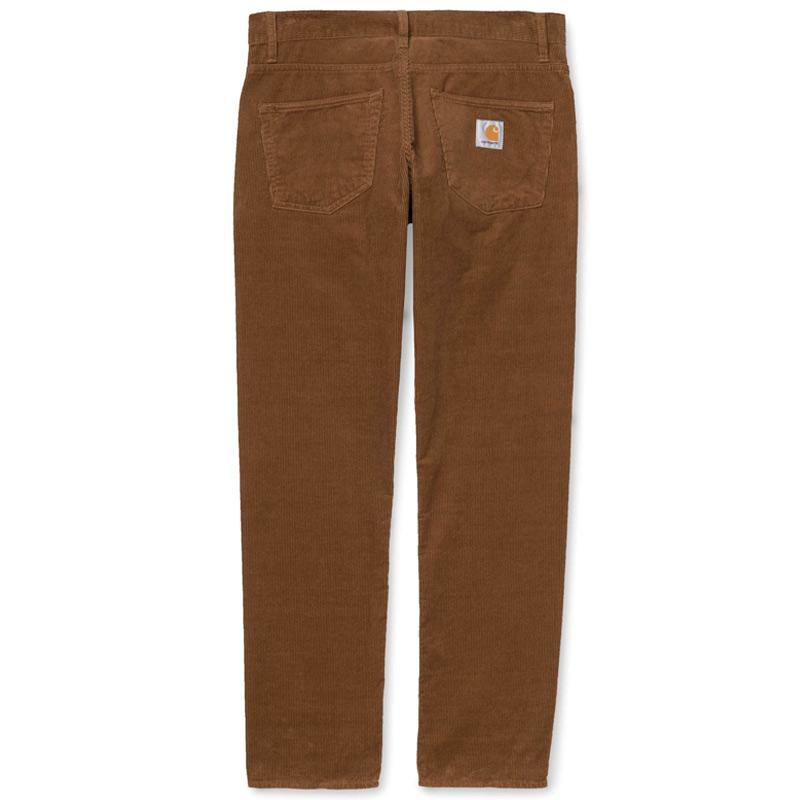Carhartt WIP Klondike Cord Pants Hamilton Brown Rinsed