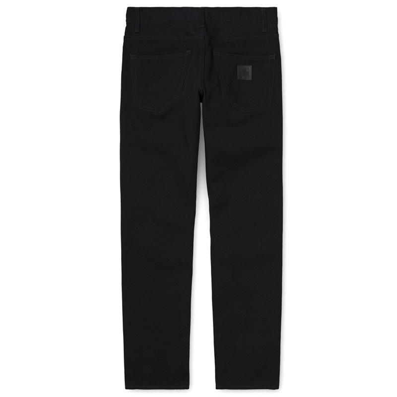 Carhartt WIP Klondike Pants Black Rinsed