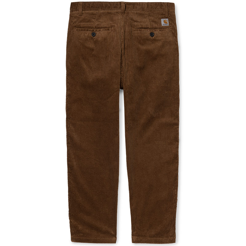 Carhartt WIP Menson Pants Hamilton Brown Rinsed