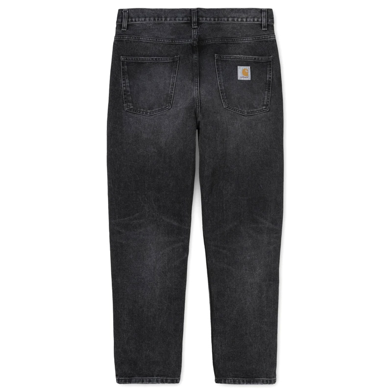 Carhartt WIP Newel Pants Black Mid Worn Wash