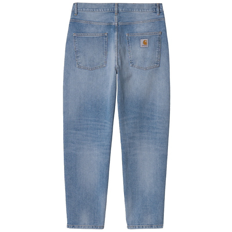 Carhartt WIP Newel Pants Blue Light Used Wash