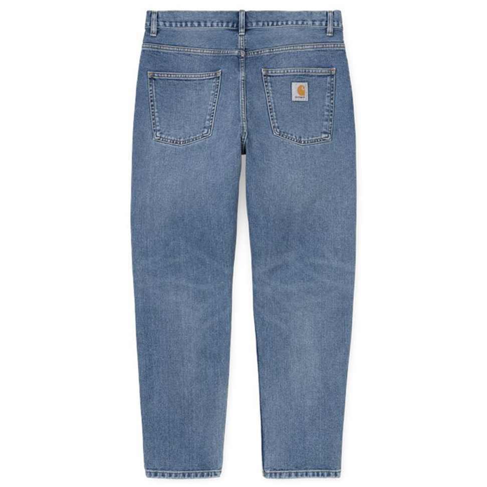 Carhartt WIP Newel Pants Blue Worn Bleached