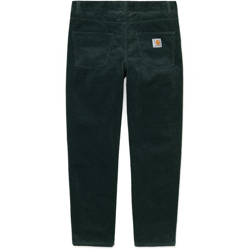 Carhartt WIP Newel Pants Dark Teal Rinsed