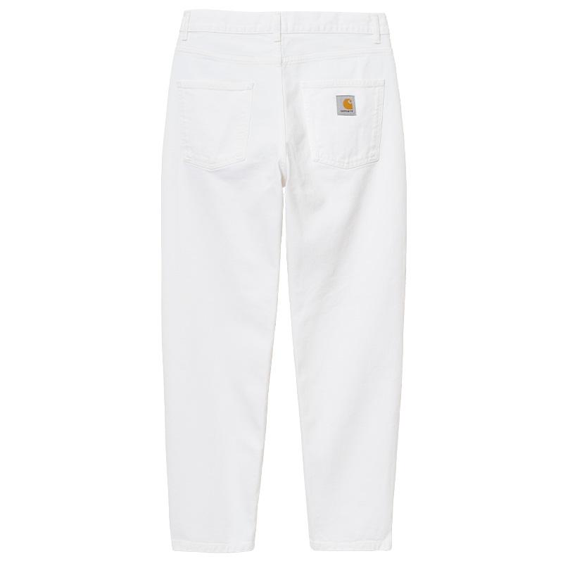 Carhartt WIP Newel Pants White Worn Washed