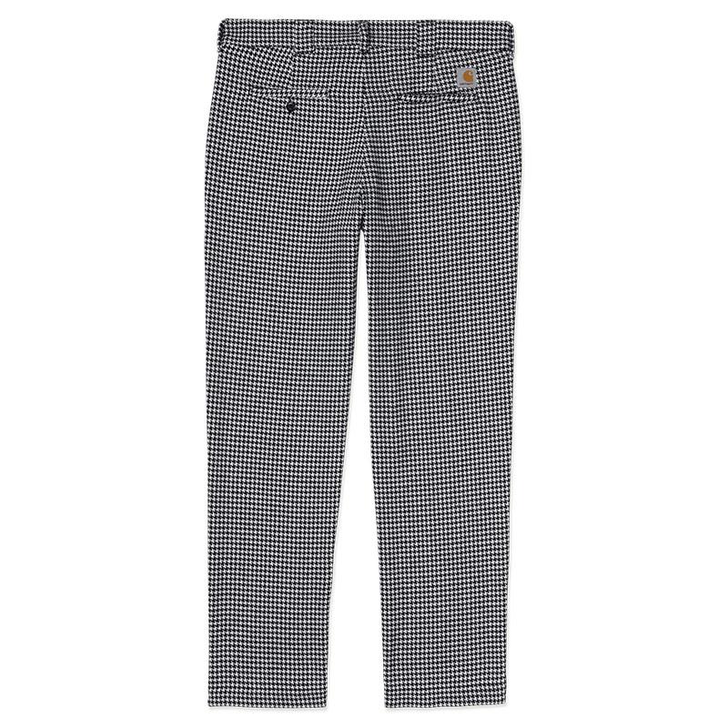 Carhartt WIP Norvell Pants Norvell Check White