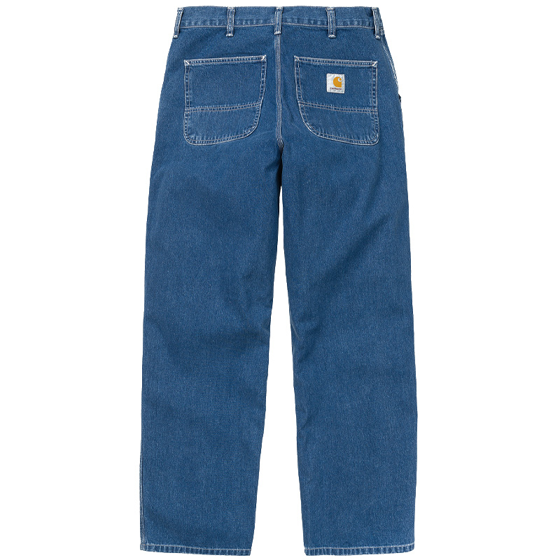 Carhartt WIP Simple Pants Blue Stone Washed