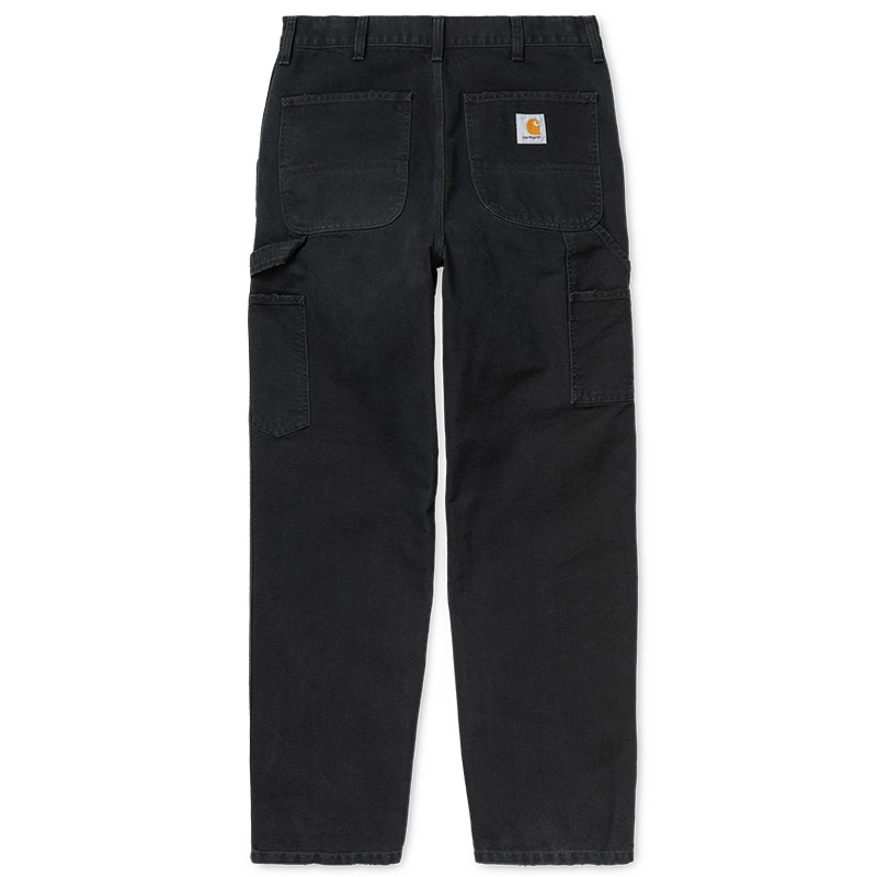 Carhartt WIP Single Knee Pants Black Aged Canvas