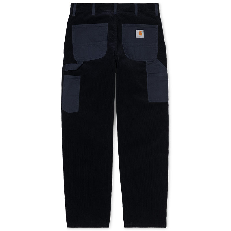 Carhartt WIP Single Knee Pants Dark Navy Rinsed