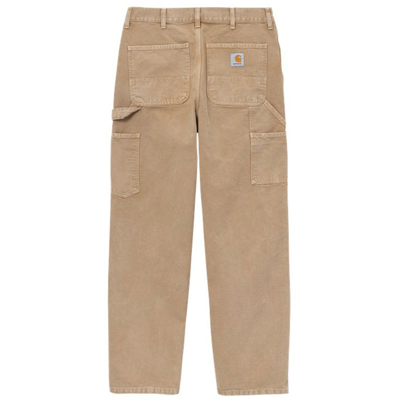 Carhartt WIP Single Knee Pants Dusty H Brown Worn Canvas