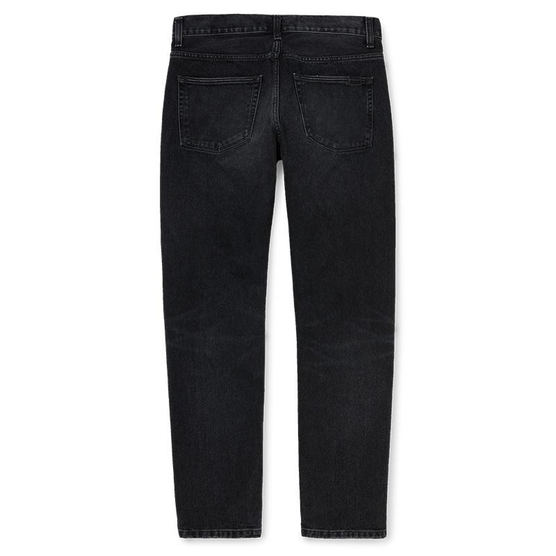 Carhartt WIP Vicious Pants Black Mid Worn Wash