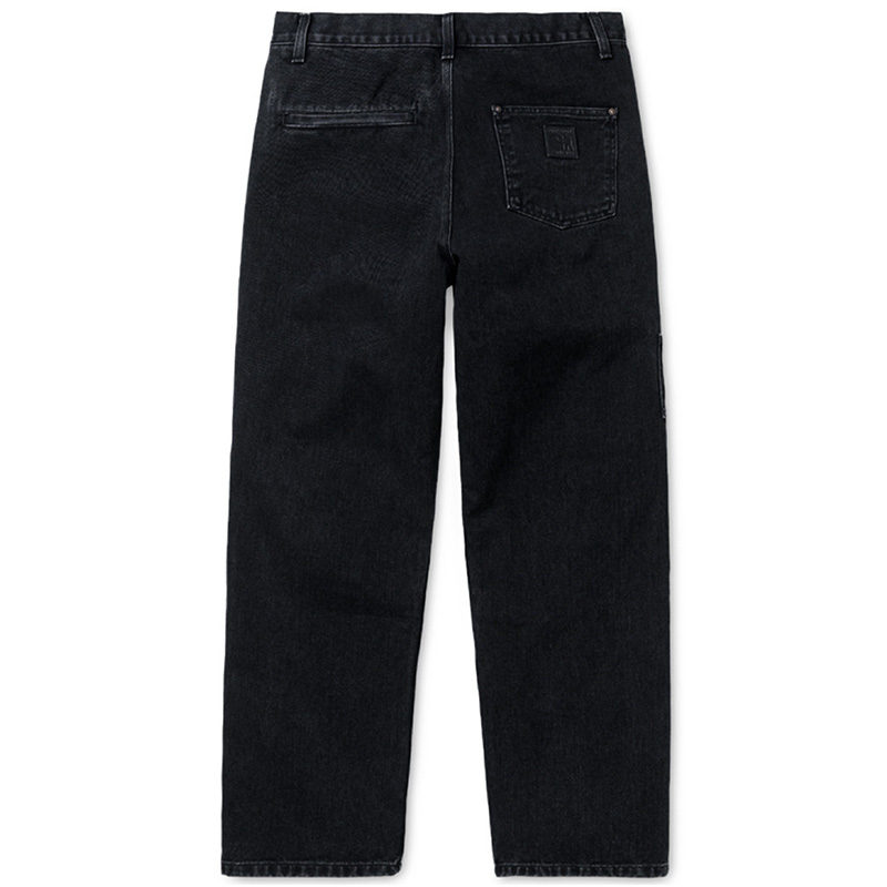 Carhartt X Pass Port Pall Pants Black Stone Washed
