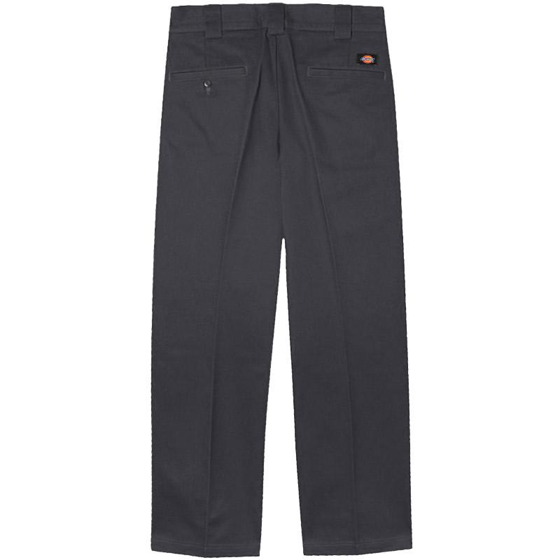 Dickies 873 Slim Straight Work Pants Charcoal Grey