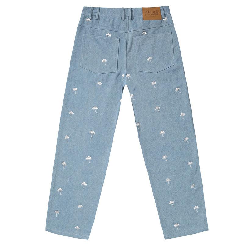 Helas Poppins Denim Pants Blue