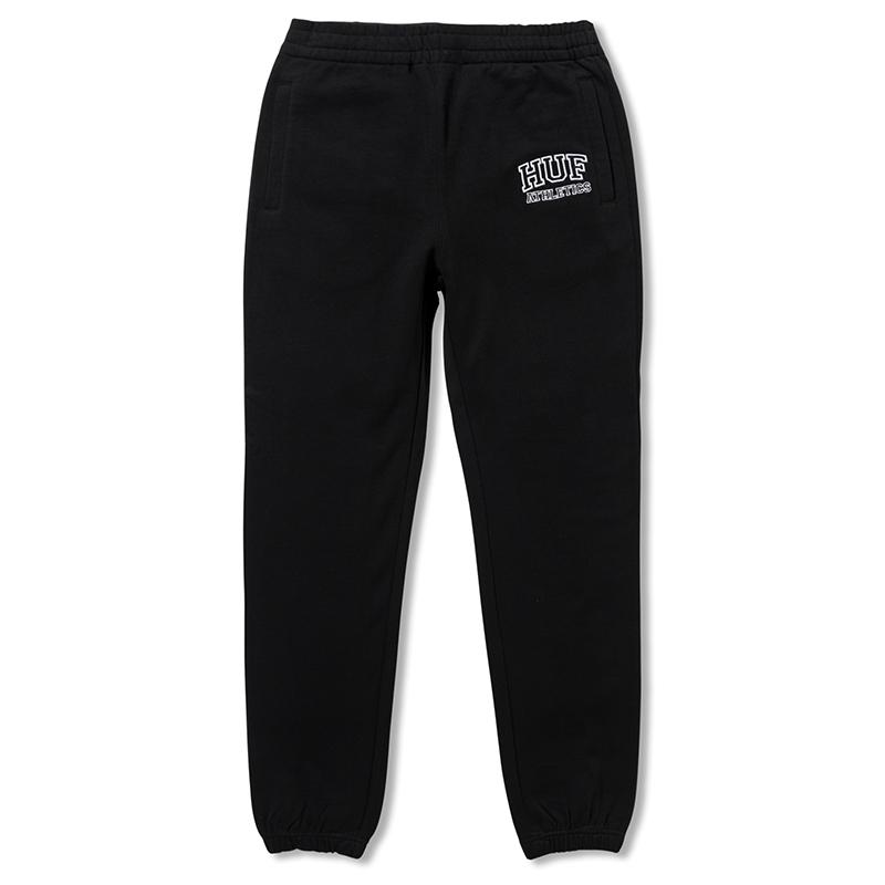 HUF Romes Fleece Pants Black