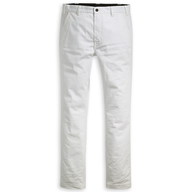 Levi's Work Pants Bright White Twill