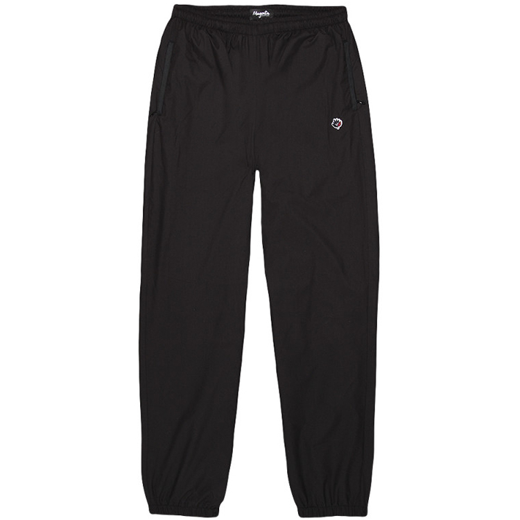 Magenta Tracksuit Pants Black