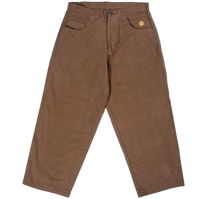 New Deal Big Deal Jeans Brown