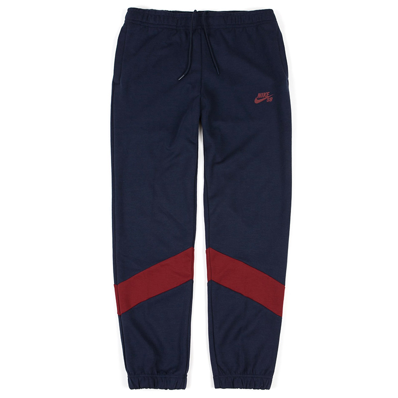 Nike SB Dry Icon Track Pants Obsidian/Team Red/Obsidian/Team Red