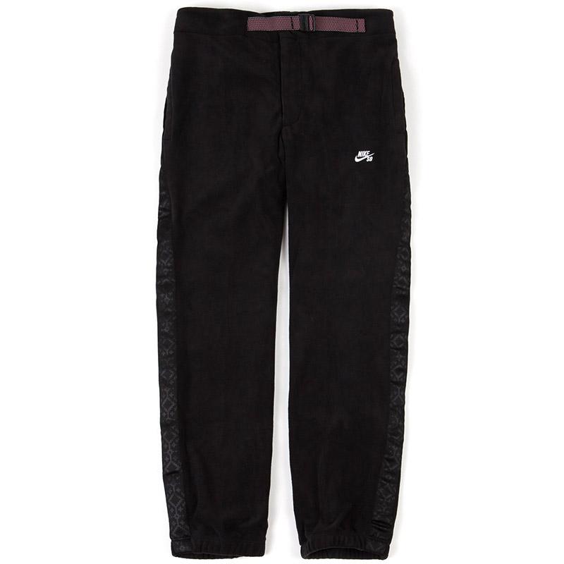 Nike SB Novelty Fleece Pants Black/White