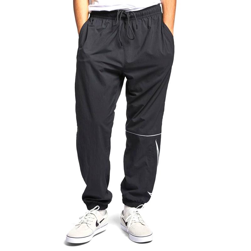 Nike SB Swoosh Track Pants Black/White/White