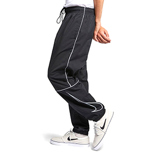 super popular fdc40 0ed43 Nike SB Swoosh Track Pants Black White White. undefined. Loading zoom