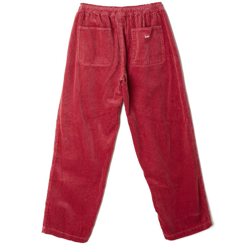 Obey Easy Big Boy Cord Pants Cassis