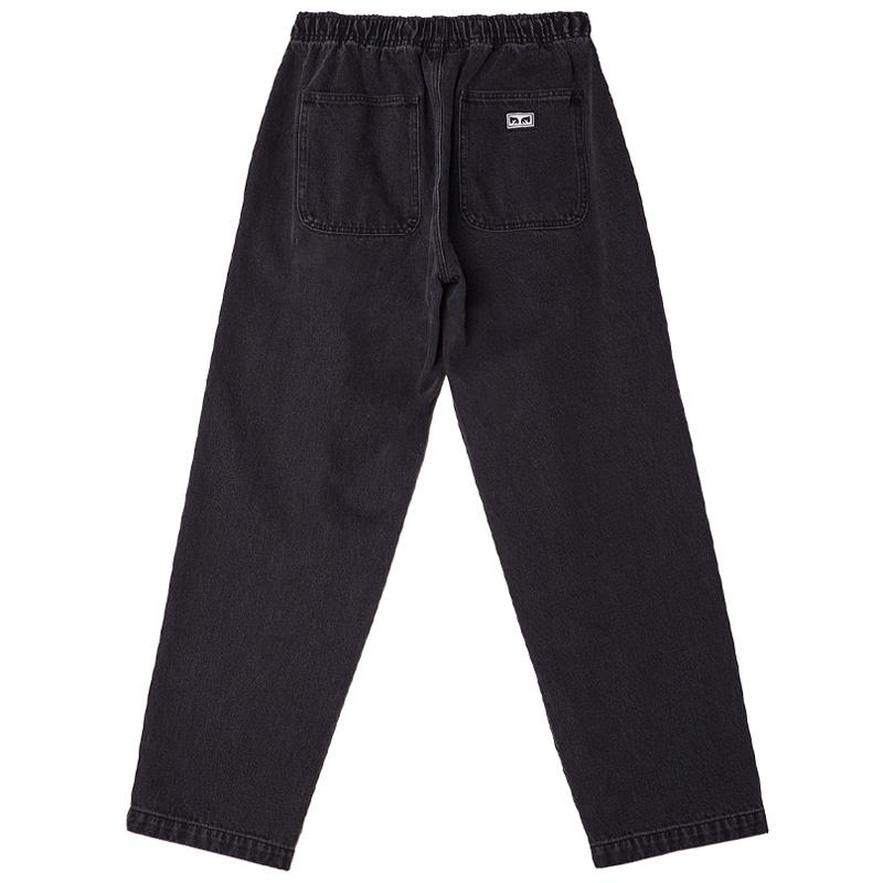 Obey Easy Denim Pants Black