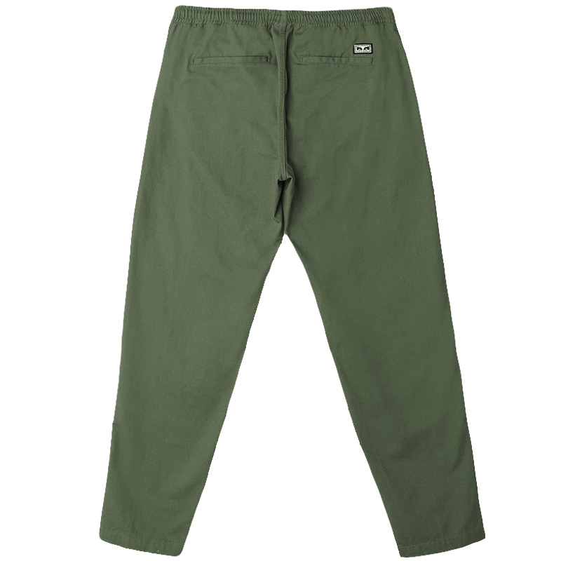 Obey Easy Twill Pants Army Tent
