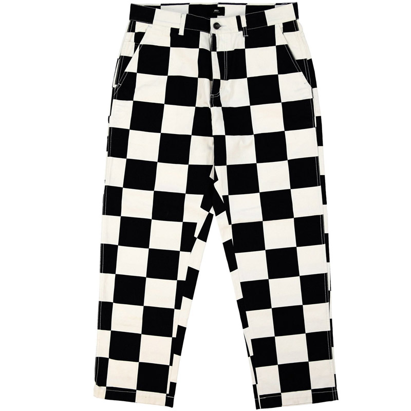 Obey Hardwork Labor Pants Checker