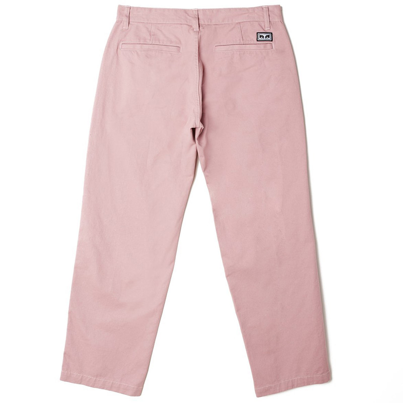 Obey Hardwork Pants Lilac